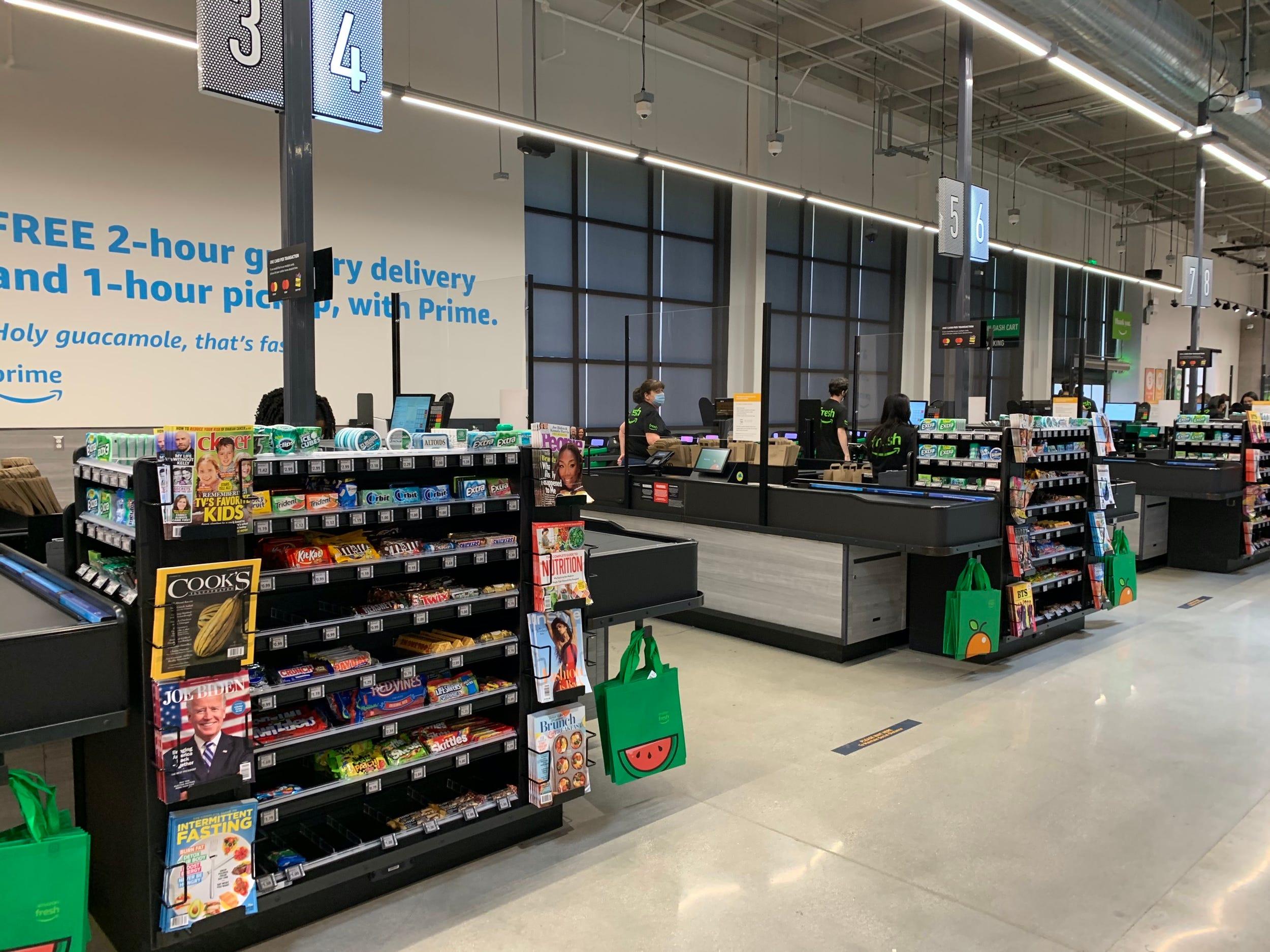 Amazon Fresh store