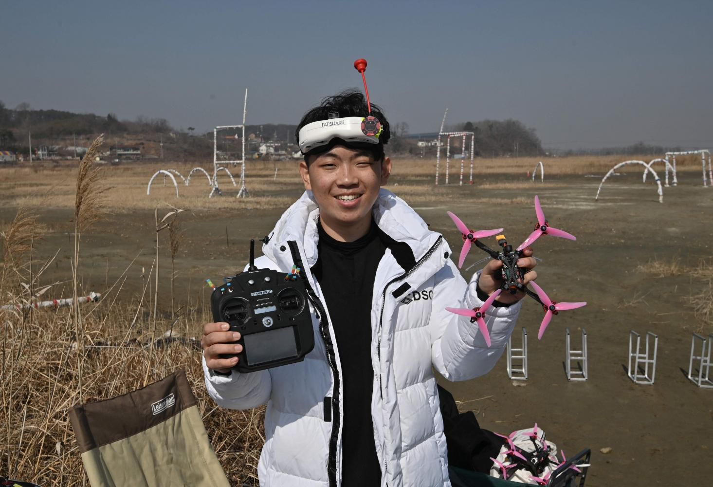 Kang Chang-hyeon in Hwaseong, south of Seoul, on Feb 20. (Photo: AFP)